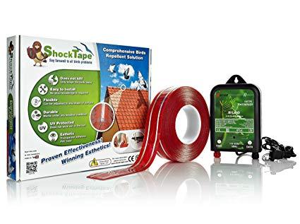 Pigeon Control Bird Repellent Device - Ultimate Solution for Keeping the Birds Away - DIY Bird Deterrent - Exclusive, Effective & Durable Electronic Bird Repeller