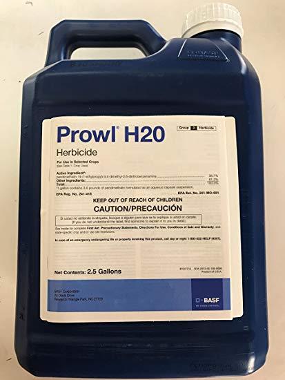 Prowl H2O Herbicide - 2.5 Gallon